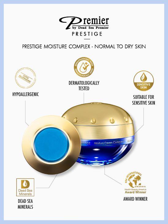 Prestige-Feuchtigkeitskomplex - normale bis fettige Haut K15