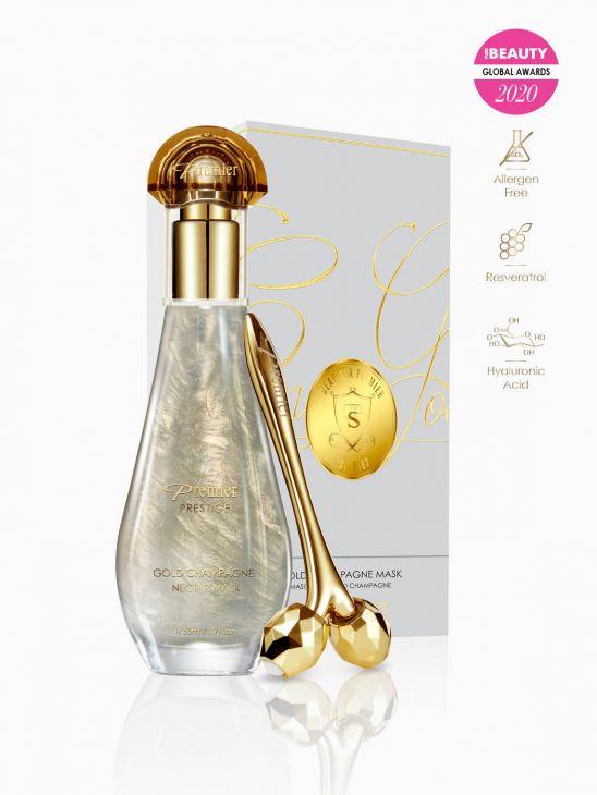 Gold Champagne Maske K66